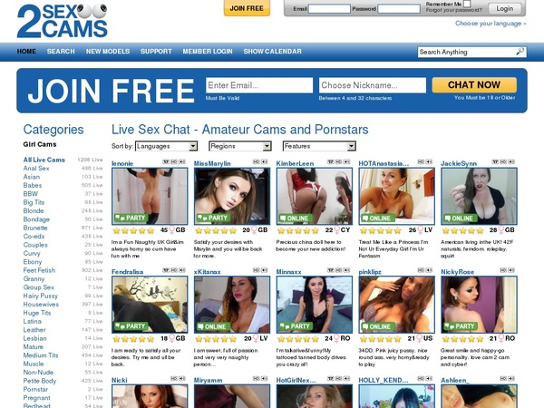 Discount Codes 2sexcams