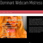 Dominant Webcam Mistress Sign