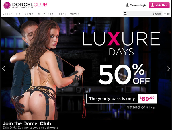 Fre Dorcelclub.com Login And Password