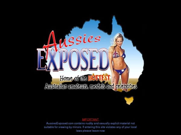 Aussies Exposed Discount Codes