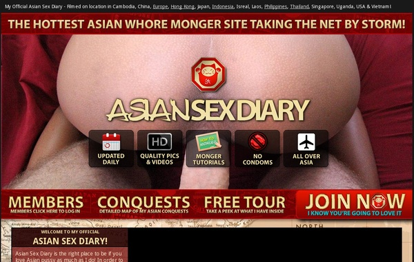 Asiansexdiary.com Website Discount