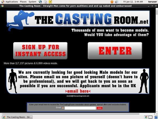 The Casting Room Accounts Free