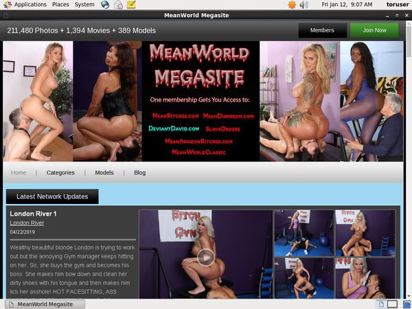 Meanworld Sign Up