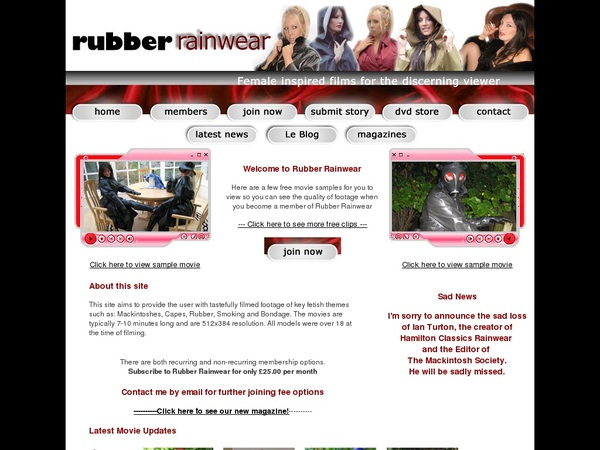 Rubberrainwear With Discover Card