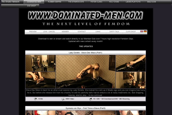 Make Dominatedmen Account