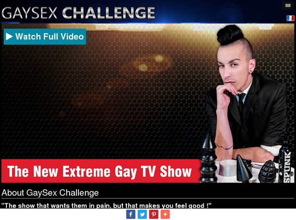 Get Into Gay Sex Challenge Free